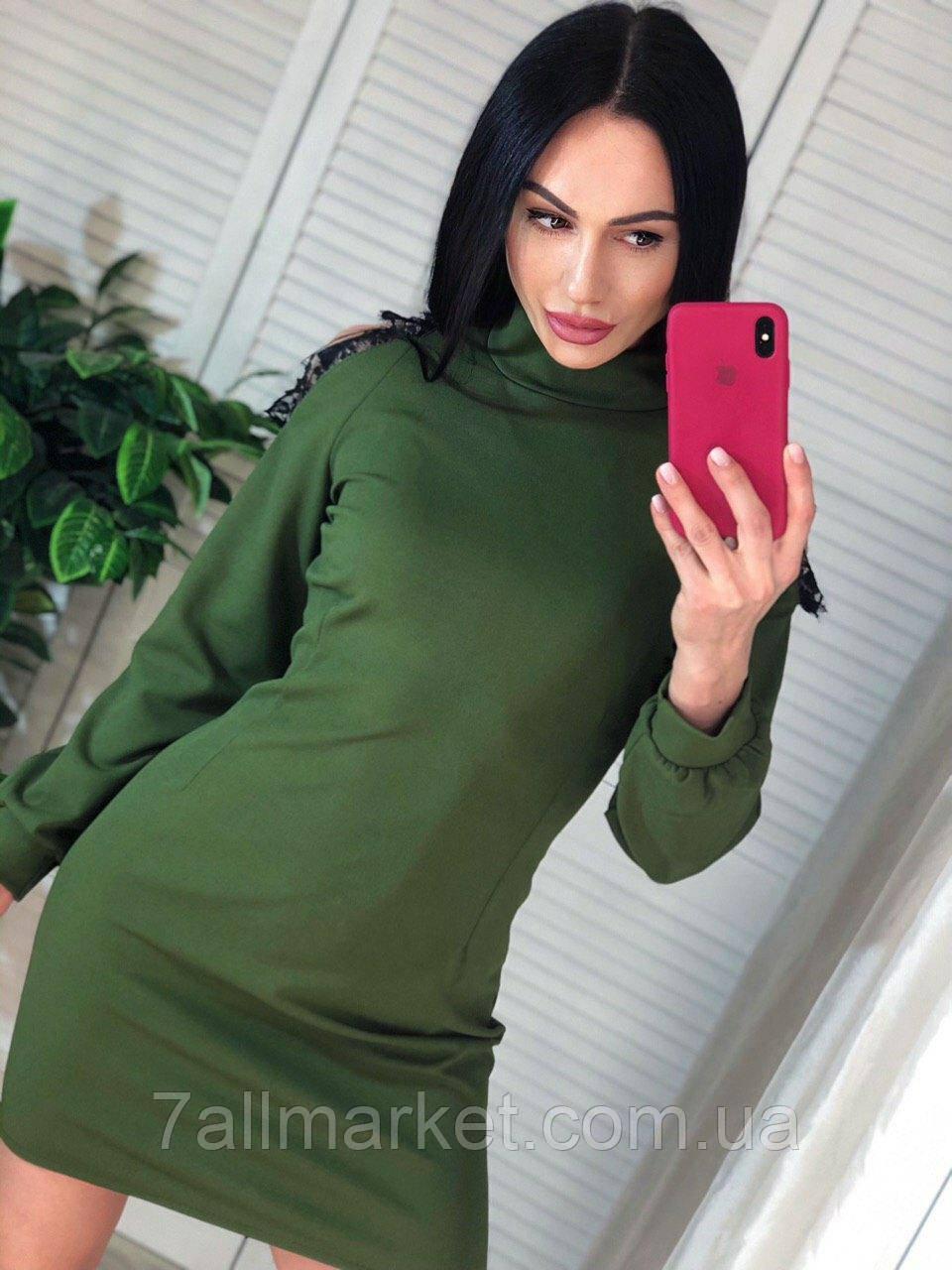 """Платье женское молодежное с открытыми плечами  размеры S-M  """"MARGARET"""" купить недорого от прямого поставщика"""