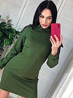 """Платье женское молодежное с открытыми плечами  размеры S-M  """"MARGARET"""" купить недорого от прямого поставщика, фото 1"""