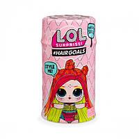 Кукла ЛОЛ LOL L. O. L. Hairgoals 5 сезон 2 волна волосатики MGA Оригинал