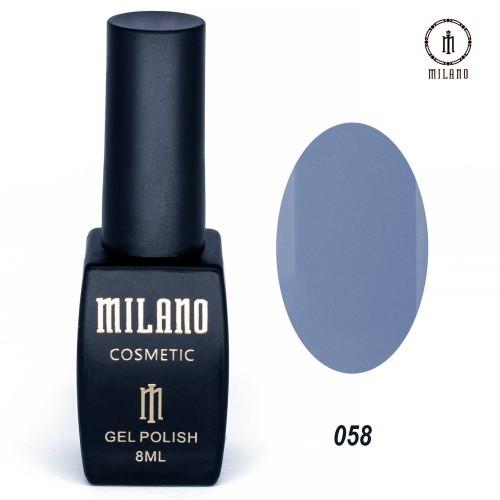 Гель - лак MILANO 8 мл №058