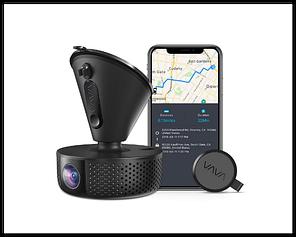 Видеорегистратор VAVA 1920X1080P  Wi-Fi датчик ночного видения Sony, GPS, режим парковки