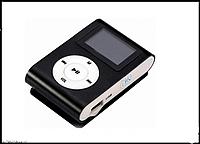 MP3 мини плеер MX-801FM  мини с экраном С памятью 8GB прищепкой черный, фото 1