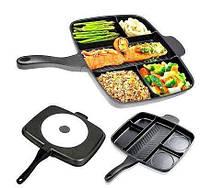 Инновационная сковорода гриль с антипригарным покрытием Magic Pan