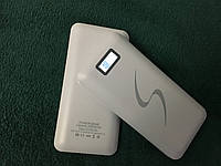 ПоверБанк Smart PowerBank 50000mAh 2 USB с экраном БЕЛЫЙ