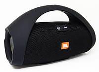 Колонка JBL BOOMBOX MINI E10 с USB, SD, FM, Bluetooth, 2-динамиками, хорошая реплика JBL ЧЕРНАЯ