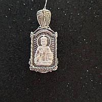 Серебряная иконка 825 пробы святого Николая