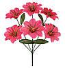 Букет штучних квітів Мальва , 35 см