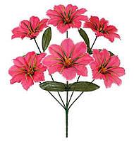 Букет штучних квітів Мальва , 35 см, фото 1