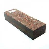 Брусок микарты № 95490 Эко - вуд (рыжий) 25х40х130мм