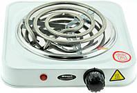 Электроплита 1 комфорка, спиральная, WimpeX WX-100B-HP, мощная плита