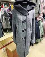 Стильное женское пальто из варёной шерсти