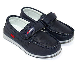 Детские мокасины, туфли на липучке