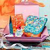 Подарочный набор Lady шоколад и чай 2в1
