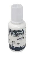 Корректирующая жидкость с кисточкой 20мл JOBMAX BM.1003