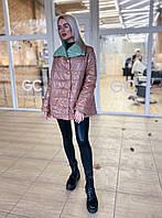 Куртка женская стильная двухсторонняя 42-46 рр.