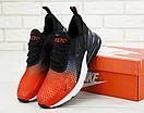 Чоловічі кросівки Nike Air Max 270 Black / Red, фото 5