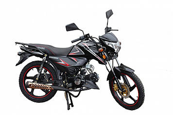 Мотоцикл Spark SP125C-2C чорний матовий, Безкоштовна Доставка