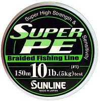 Шнур Sunline Super PE #0.128 (6lb / 3 kg)
