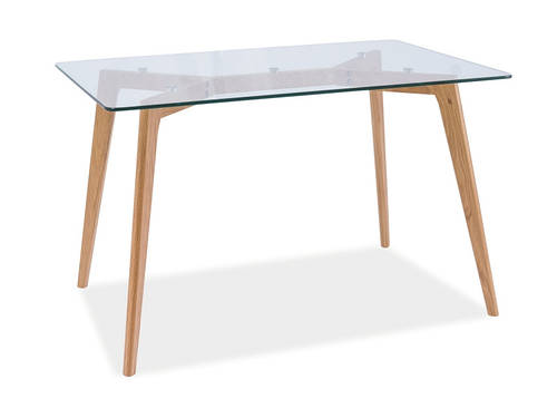 Стол стеклянный Oslo 120x80