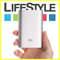 Power Bank 10400 mAh Xiaomi Mi + подарок Наушники Apple Серебристый
