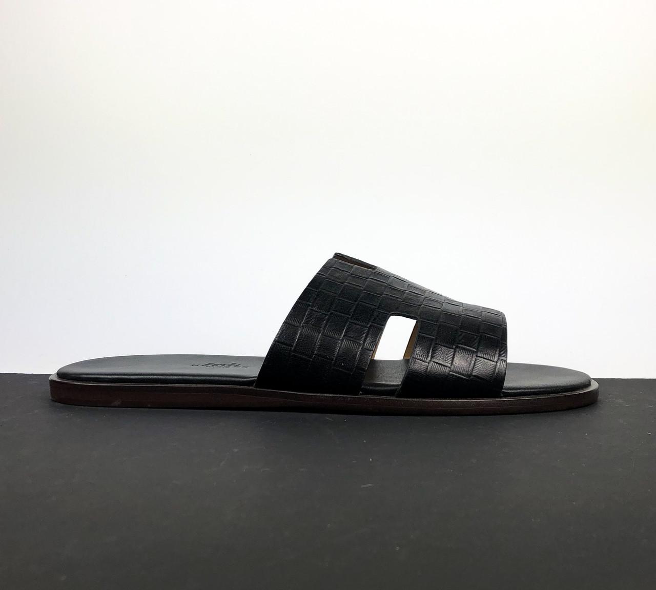 Кожаный шепанцы Hermès