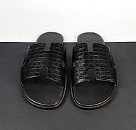 Кожаный шепанцы Hermès (Гермес) арт. 112-03, фото 1