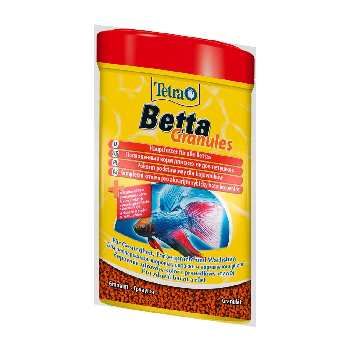 Корм для півників Tetra Betta Granules 5 г гранули