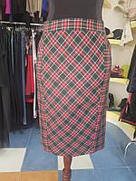 Юбка-карандаш из шотландки Grandua
