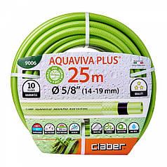 """Шланг для полива Claber Aquaviva Plus 9006, 25 м 5/8"""" зеленый"""