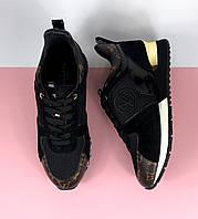 Женские кроссовки Louis Vuitton RUN AWAY (Луи Виттон) арт. 105-01
