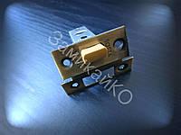 Защелка межкомнатная Sofia-100P бронза