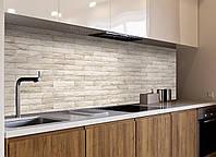 Кухонный фартук Текстура 04 (кирпичная кладка самоклеющаяся виниловая пленка для кухни) 600*2500 мм, фото 1