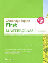 Cambridge English: First Masterclass Student's Book with Online Practice / Учебник