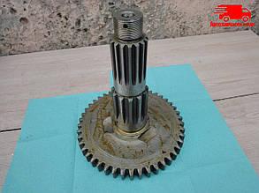 Вал вторичный КПП МТЗ 800, 900, 952 (производство  МТЗ). 74-1701260. Ціна з ПДВ.