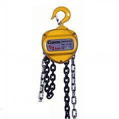 Таль ручная цепная Gutman KLE-1000 1т, 9м