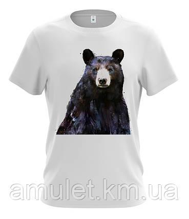 """Футболка мужская летняя """"Медведь"""", фото 2"""