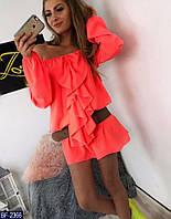 """Платье женское шелковое мод. 063 (42-44, 44-46) """"AFINA"""" недорого от прямого поставщика, фото 1"""
