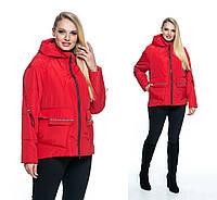 Яркие демисезонные куртки для женщин размеры 44-56