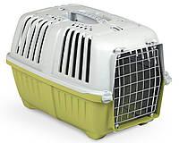 Переноска для животных 48*31.5*33 см MPS PRATIKO 1 Green. Дверь металлическая