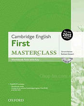 Cambridge English: First Masterclass Workbook Pack with key and MultiROM / Тетрадь с ответами