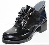 Ботинки женские демисезонные кожаные на каблуке от производителя модель РИ7-42-1, фото 2
