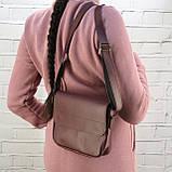 Сумка sv lady бордо из натуральной кожи kapri, фото 3