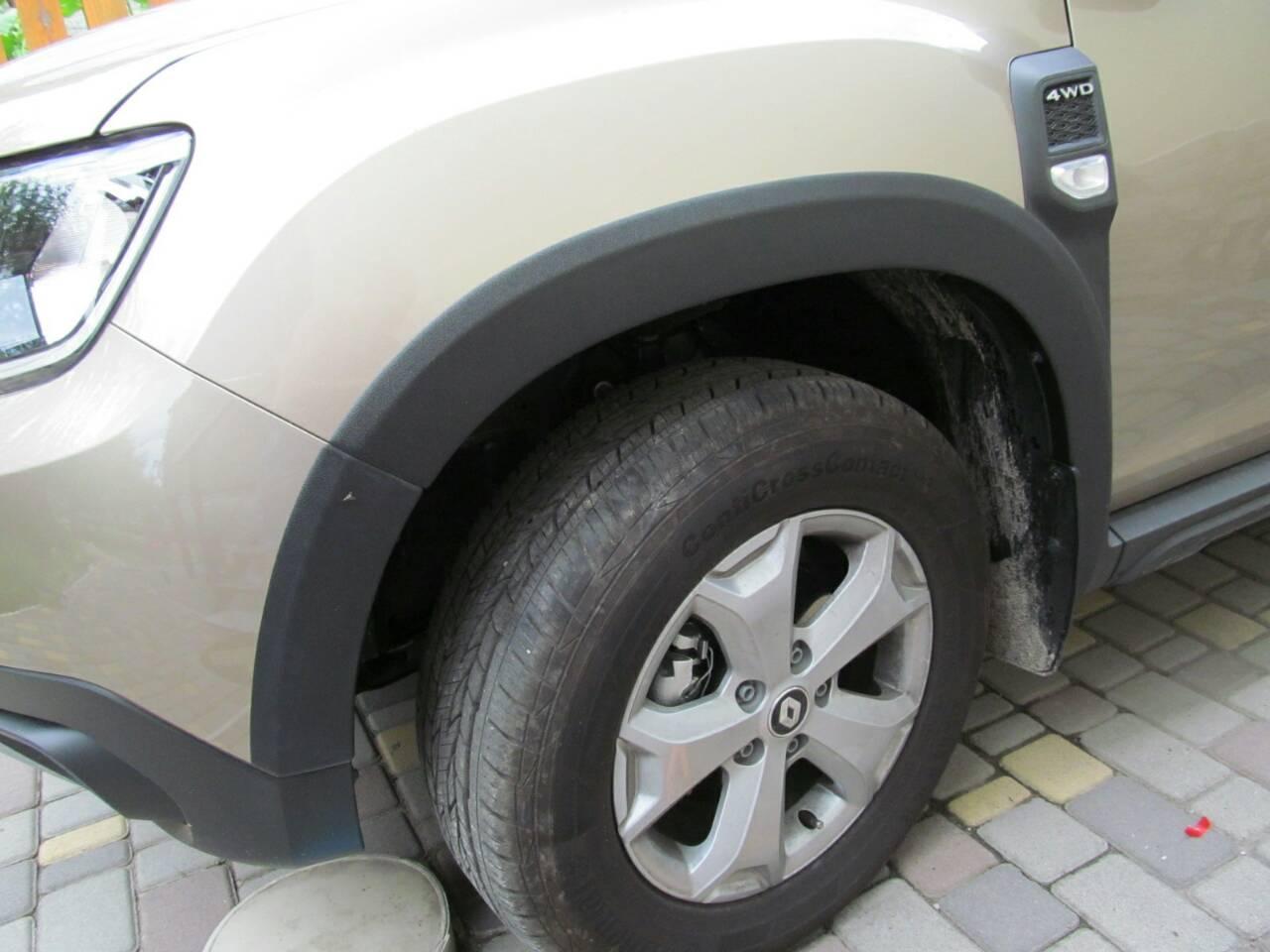 Расширители колесных арок Renault Duster NEW (2018-2021)