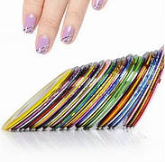 Липкая лента скотч для дизайна ногтей