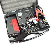 Power Bank / Пусковое зарядное устройство двигателя, с компрессором и фонарем Mult-Functional Jump Starter