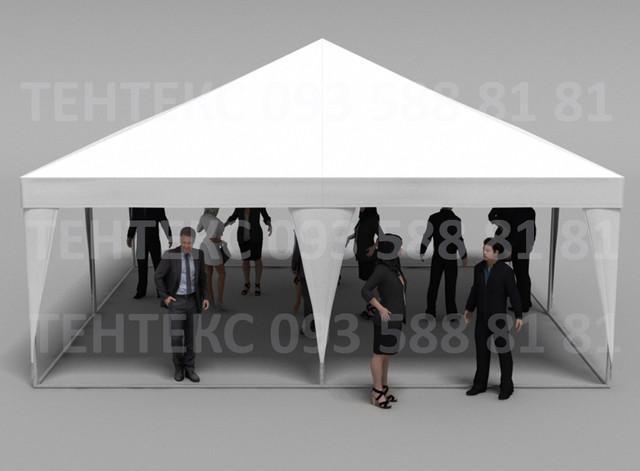 палатка пирамида 5х5