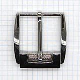 Пряжка ременная 40 мм никель с барашком a3555, фото 2