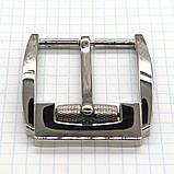 Пряжка ременная 40 мм никель с барашком a3555, фото 3