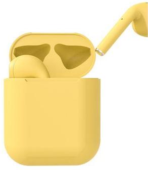 Bluetooth inPods 12 TWS 5.0 yellow Гарантия 1 месяц, фото 2