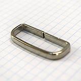 Шлевка металлическая 35 мм никель для ремней t4358 (30 шт.), фото 3